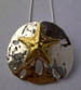 Go to Pendants / Fine Silver with 24KT Accents Gallery