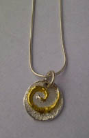 Small Spiral Pendant